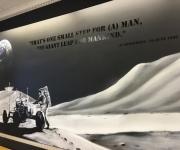 Moon Spape Mural